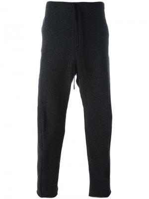 Спортивные брюки с заниженной шаговой линией Forme Dexpression D'expression. Цвет: серый