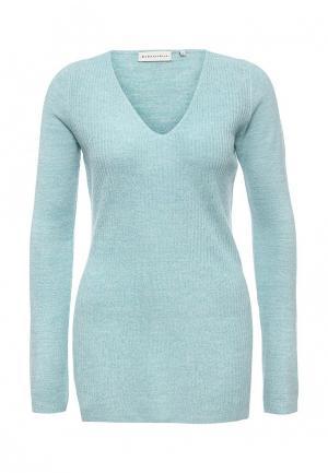 Пуловер Delicate Love. Цвет: бирюзовый