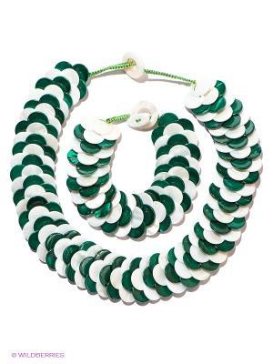 Комплект Migura. Цвет: зеленый, белый