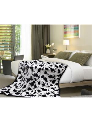 Плед Absolute 1,5 сп. Dalmatian TexRepublic. Цвет: белый, черный