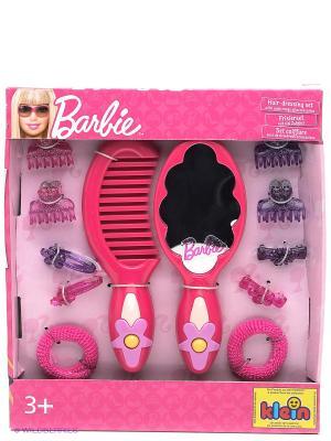 Набор с зеркалом Барби KLEIN. Цвет: розовый