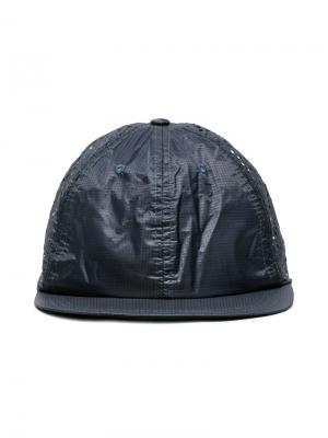 Perforated running cap Satisfy. Цвет: синий