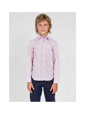 Рубашка ШАЛУНЫ. Цвет: розовый