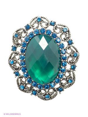 Брошь Lovely Jewelry. Цвет: зеленый