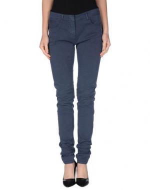 Повседневные брюки LOT 78. Цвет: грифельно-синий