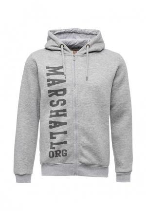 Толстовка Marshall Original. Цвет: серый