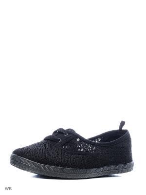 Слипоны CentrShoes. Цвет: черный