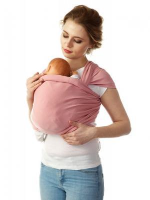 Слинг-шарф трикотажный Mum`s Era. Цвет: розовый