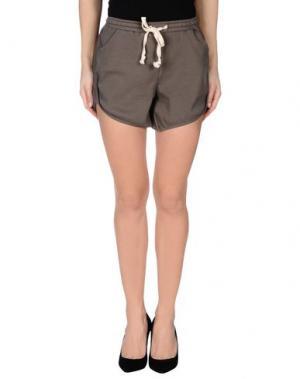 Повседневные шорты FOURMINDS. Цвет: серый
