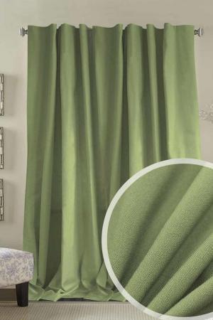 Портьера 200x270 Amore Mio. Цвет: зеленый