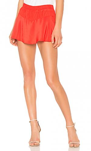 Юбка-шорты tiana RAMY BROOK. Цвет: красный