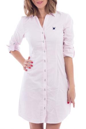 Платье POLO CLUB С.H.A.. Цвет: pink