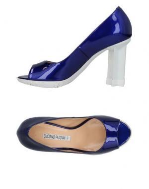 Туфли LUCIANO PADOVAN. Цвет: синий