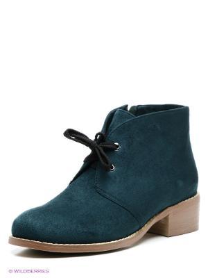 Ботинки Wilmar. Цвет: темно-зеленый