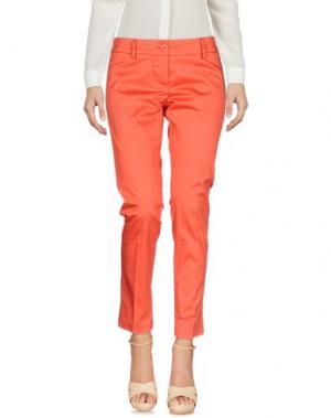 Повседневные брюки SHI 4. Цвет: красный