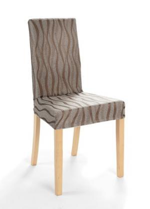Чехол для стула Вена (коричневый) bonprix. Цвет: коричневый