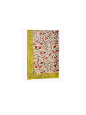 Полотенце Rosy grey red /Розовый серый красный/ 50*80см, 100% хлопок Mas d'Ousvan. Цвет: серо-зеленый