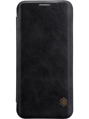 Samsung Galaxy S8 Plus Nillkin Qin leather case. Цвет: черный