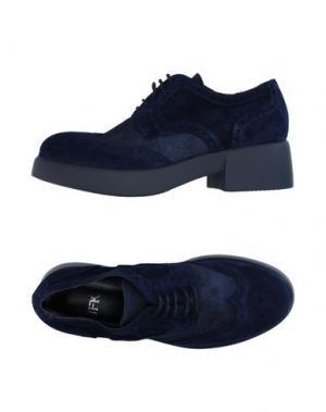 Обувь на шнурках JFK. Цвет: темно-синий