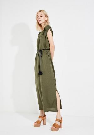 Платье Woolrich. Цвет: хаки