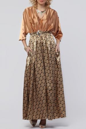 Платье Kata Binska. Цвет: бронзовый