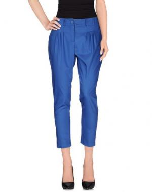 Повседневные брюки CORTE DEI GONZAGA. Цвет: синий