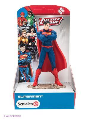 Супермен SCHLEICH. Цвет: темно-синий