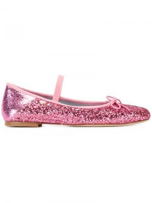 Слиперы #findmeinwonderland Chiara Ferragni. Цвет: розовый и фиолетовый