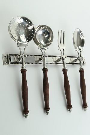 Аксессуары для кухни Stilars. Цвет: серебряный