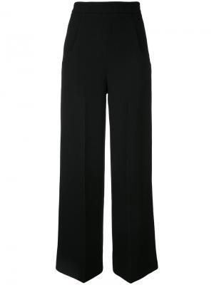 Классические расклешенные брюки Roland Mouret. Цвет: чёрный
