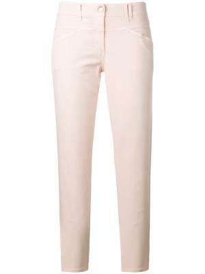Прямые брюки Closed. Цвет: розовый и фиолетовый