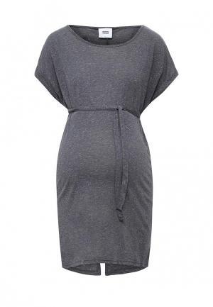 Блуза Mamalicious. Цвет: серый