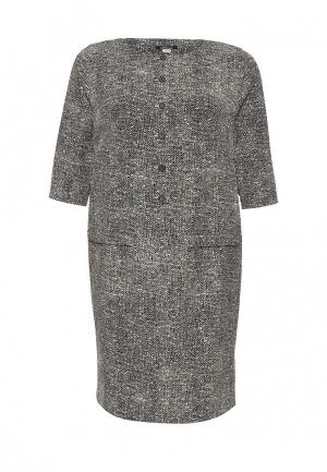 Платье Silver String. Цвет: серый