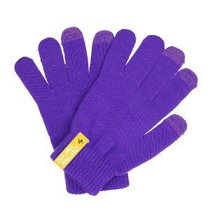 Перчатки  Touch Gloves Purple TrueSpin. Цвет: фиолетовый
