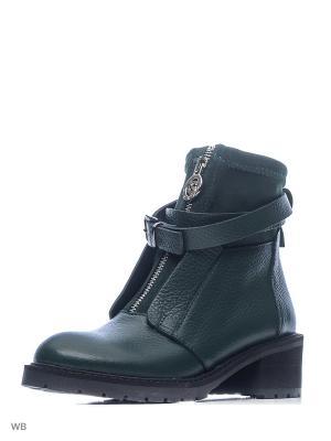 Ботинки GARRO. Цвет: темно-зеленый