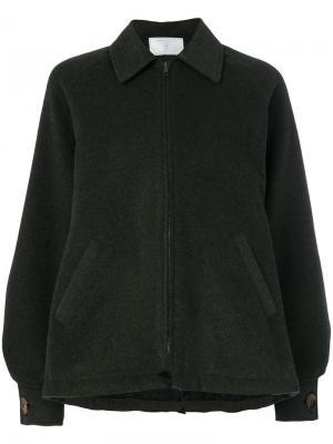 Куртка-бомбер Bon Ton Société Anonyme. Цвет: зелёный