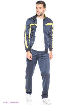 Спортивные костюмы ADDIC. Цвет: темно-синий, желтый