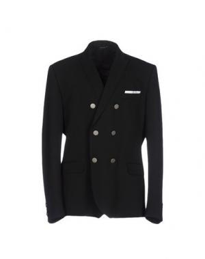 Пиджак DANIELE ALESSANDRINI. Цвет: черный