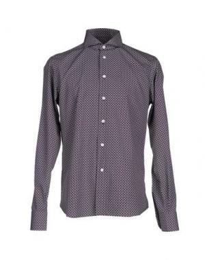 Pубашка FRADI. Цвет: баклажанный