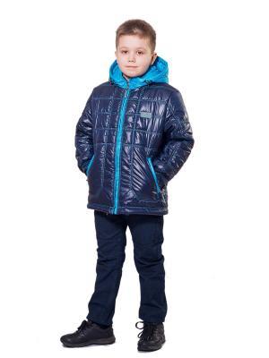 Куртка SAIMA. Цвет: синий, лазурный