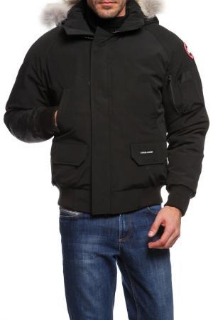 Куртка бомбер Canada Goose. Цвет: черный