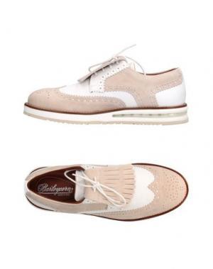 Обувь на шнурках BARLEYCORN. Цвет: белый