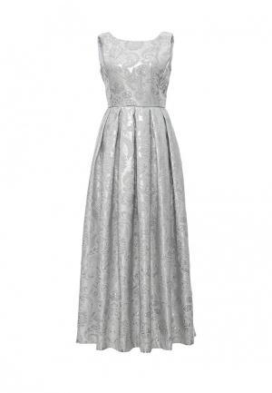 Платье Be In. Цвет: серебряный