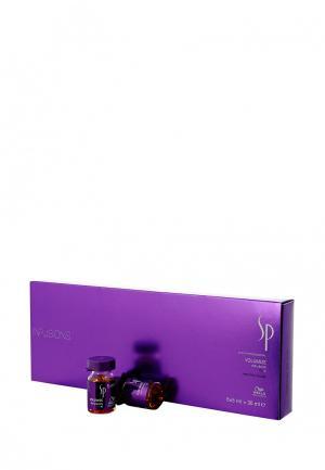 Эмульсия для объема Wella SP. Цвет: фиолетовый