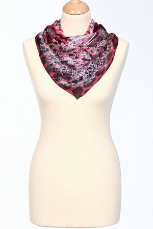Платок Roberto Cavalli. Цвет: розовый