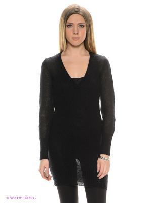 Платье SILVYA GAS. Цвет: черный
