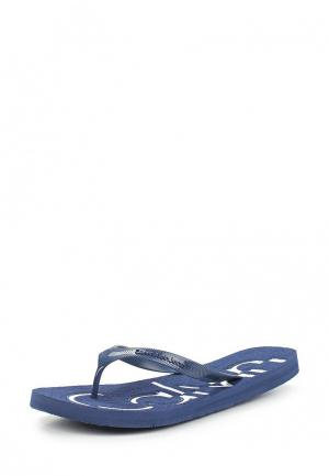 Сланцы Calvin Klein Jeans. Цвет: синий