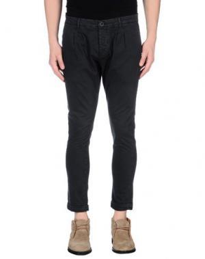 Повседневные брюки - -ONE > ∞. Цвет: стальной серый