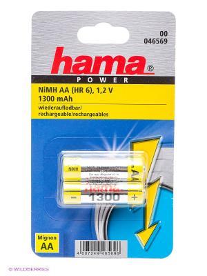 Аккумулятор Hama Universal 1300. Цвет: серебристый