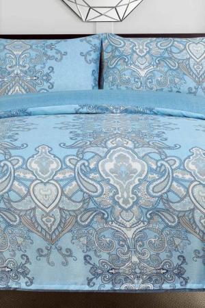 Постельное белье 1,5 сп, 50x70 СIOCCOLATO. Цвет: голубой